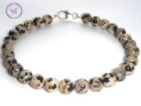 Classical Dalmation Jasper Healing Bracelet